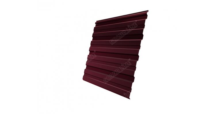 Профнастил С10R GL 0,5 Atlas RAL 3005 красное вино