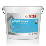 Acryl Kratzputz Акриловая штукатурка БАРАШЕК