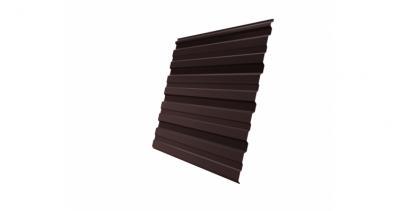 Профнастил С10R 0,45 PE-Double RAL 8017 шоколад
