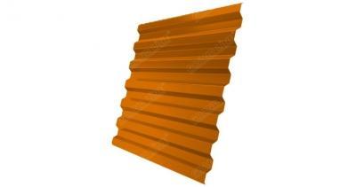 Профнастил С21R 0,45 PE RAL 2004 оранжевый