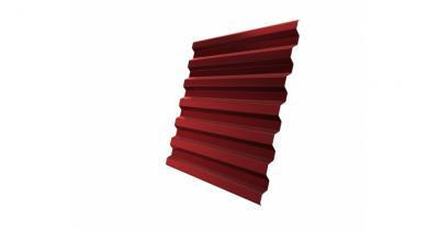 Профнастил С21R 0,45 PE RAL 3011 коричнево-красный