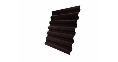 Профнастил С21R 0,5 Quarzit RAL 8017 шоколад