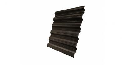 Профнастил HC35R 0,5 Satin RR 32 темно-коричневый