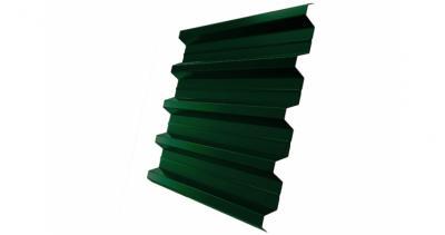 Профнастил H60R 0,5 Satin RAL 6005 зеленый мох