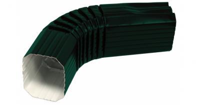 Колено прямоугольное PE RAL 6005 зеленый мох
