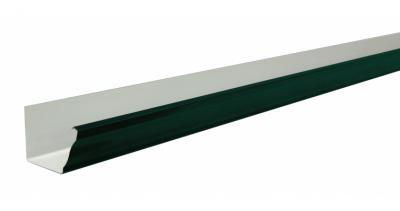 Желоб прямоугольный 127мм PE RAL 6005 зеленый мох 3м