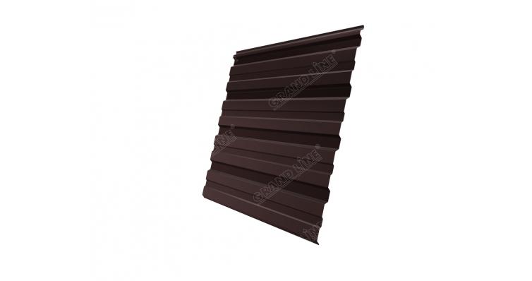 Профнастил С10R GL 0,5 Atlas RAL 8017 шоколад