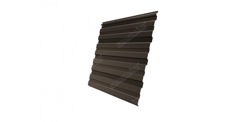 Профнастил С10R GL 0,5 Atlas RR 32 темно-коричневый