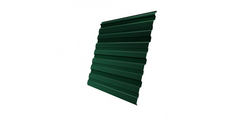 Профнастил С10R 0,35 PE RAL 6005 зеленый мох
