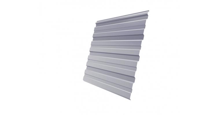 Профнастил С10R 0,45 PE RAL 7004 сигнальный серый