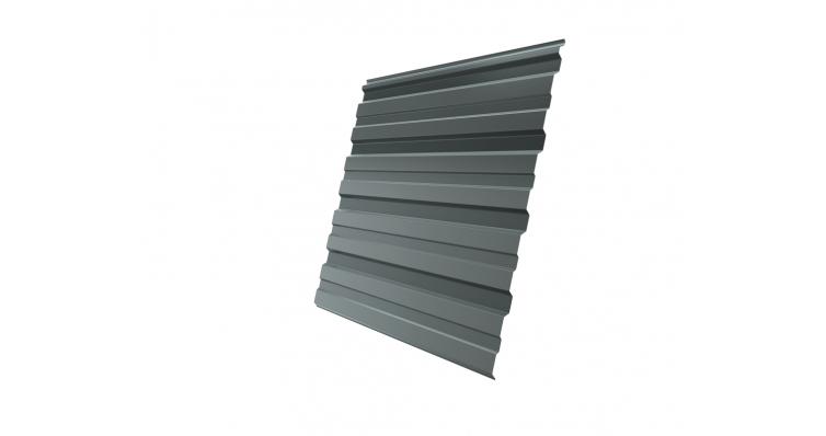 Профнастил С10R 0,45 PE RAL 7005 мышино-серый