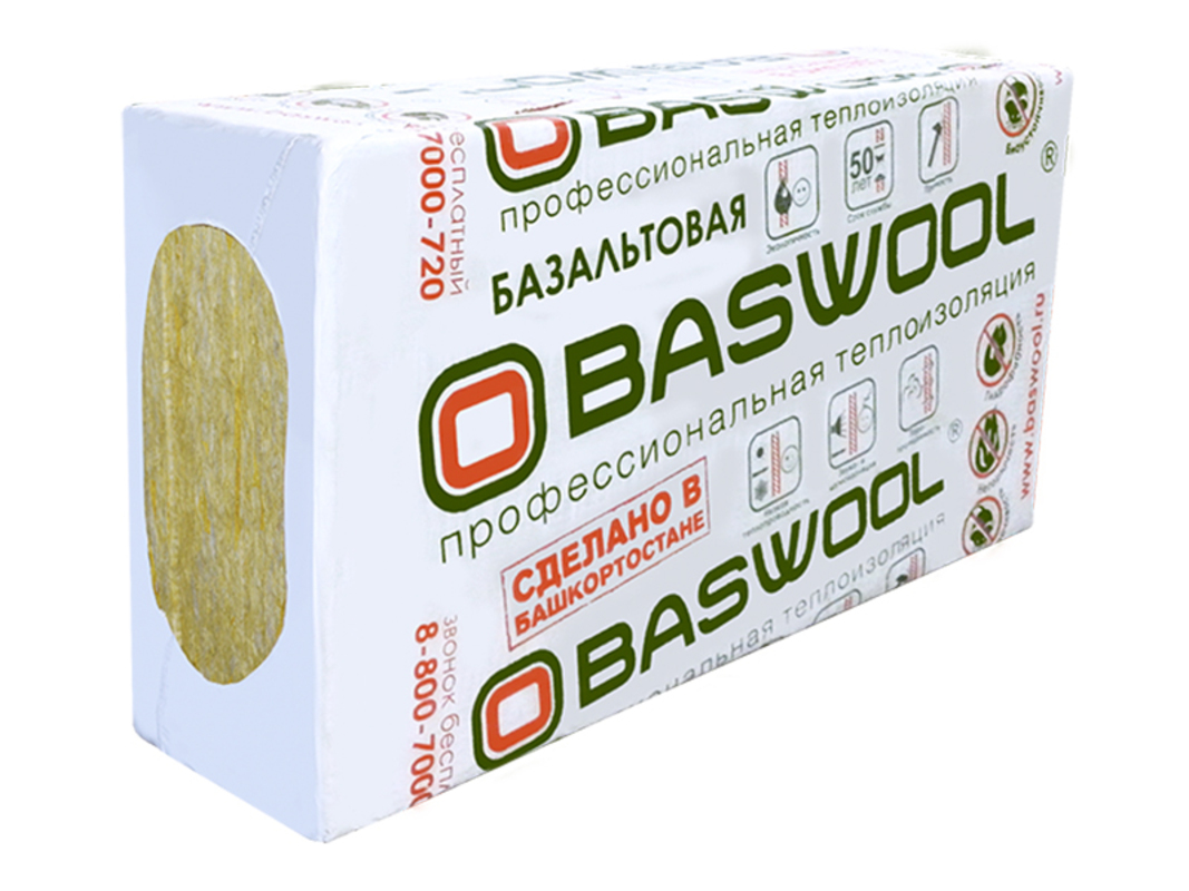 Утеплитель Baswool (Басвул) Флор П 160