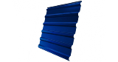 Профнастил С20R 0,45 PE RAL 5005 сигнальный синий