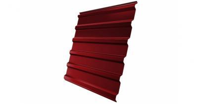 Профнастил С20R 0,5 Satin RAL 3011 коричнево-красный