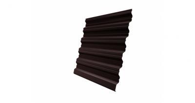 Профнастил HC35R 0,45 PE-Double RAL 8017 шоколад