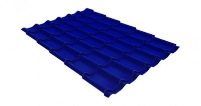 Металлочерепица классик 0,45 PE RAL 5002 ультрамариново-синий