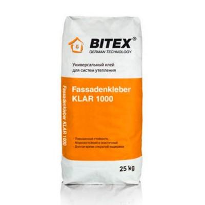 Fassadenkleber KLAR 1000 Универсальный клей для систем утеплений