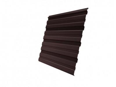 Профнастил С10R 0,45 Drap RAL 8017 шоколад