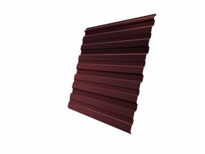 Профнастил С10R 0,45 PE RAL 3009 оксидно-красный