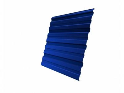 Профнастил С10R 0,7 PE RAL 5005 сигнальный синий