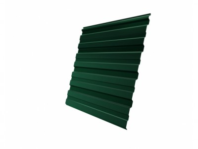 Профнастил С10R 0,5 Satin RAL 6005 зеленый мох