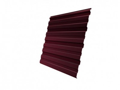 Профнастил С10R GL 0,5 Velur20 RAL 3005 красное вино