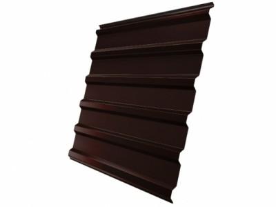 Профнастил С20R 0,45 PE-Double RAL 8017 шоколад