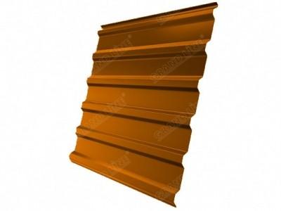 Профнастил С20R 0,45 PE RAL 2004 оранжевый