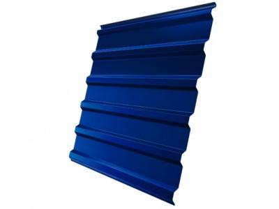 Профнастил С20R 0,5 Satin RAL 5005 сигнальный синий