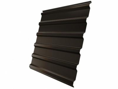 Профнастил С20R 0,5 Satin RR 32 темно-коричневый
