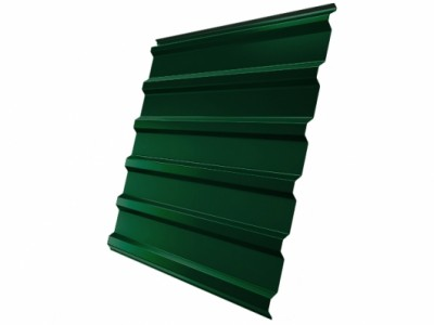 Профнастил С20R GL 0,5 Velur20 RAL 6005 зеленый мох