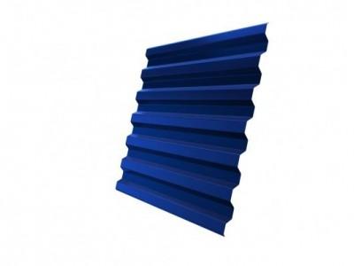 Профнастил С21R 0,7 PE RAL 5005 сигнальный синий