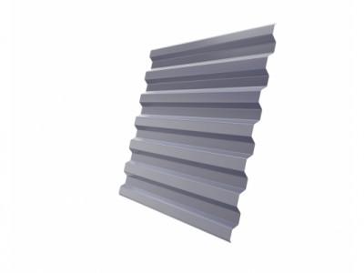 Профнастил С21R 0,45 PE RAL 7004 сигнальный серый