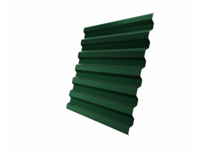 Профнастил С21R GL 0,5 Quarzit lite RAL 6005 зеленый мох