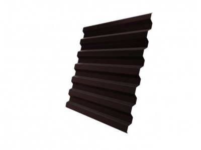 Профнастил С21R 0,5 Satin RAL 8017 шоколад
