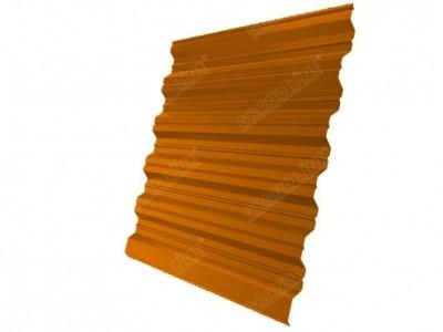 Профнастил HC35R 0,45 PE RAL 2004 оранжевый