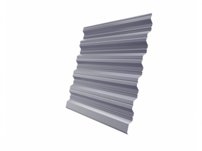 Профнастил HC35R 0,45 PE RAL 7004 сигнальный серый