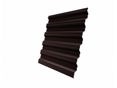 Профнастил HC35R 0,65 PE RAL 8017 шоколад