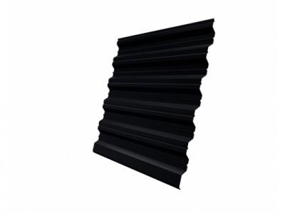 Профнастил HC35R GL 0,5 Quarzit lite RAL 9005 черный