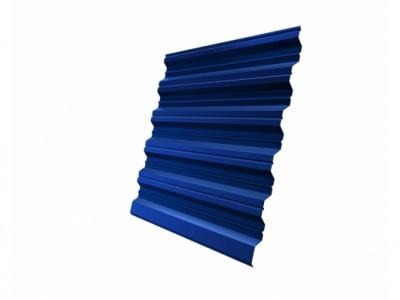 Профнастил HC35R 0,5 Satin RAL 5005 сигнальный синий