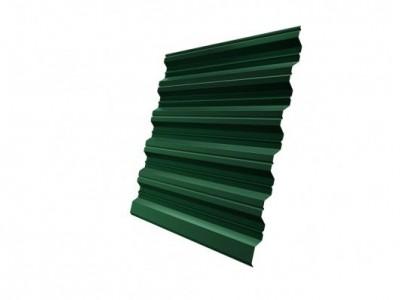 Профнастил HC35R GL 0,5 Velur20 RAL 6005 зеленый мох