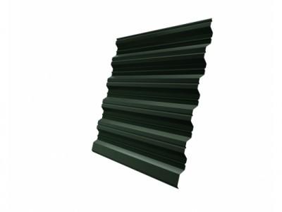 Профнастил HC35R GL 0,5 Velur20 RAL 6020 хромовая зелень