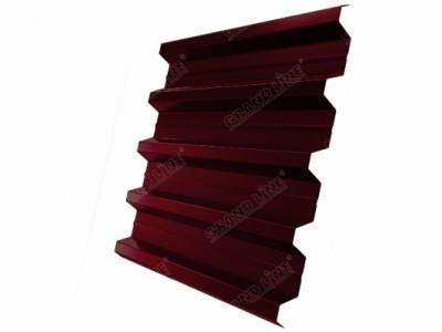 Профнастил H60R GL 0,5 Atlas RAL 3005 красное вино