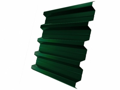 Профнастил H60R 0,7 PE RAL 6005 зеленый мох