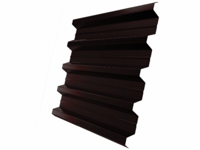 Профнастил H60R 0,65 PE RAL 8017 шоколад