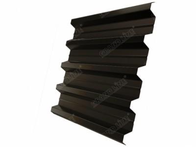 Профнастил H60R GL 0,5 Quarzit RR 32 темно-коричневый