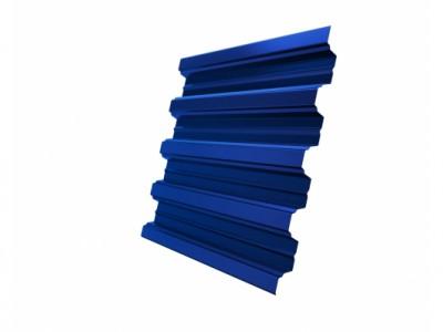 Профнастил Н75R 0,7 PE RAL 5005 сигнальный синий