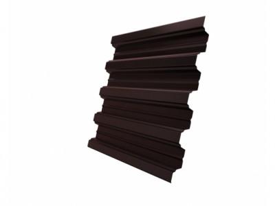 Профнастил Н75R 0,65 PE RAL 8017 шоколад
