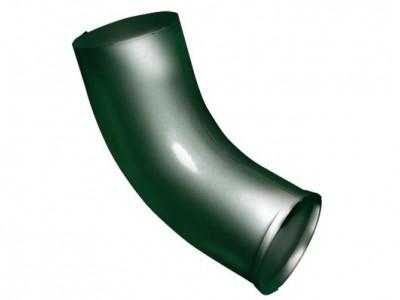 Колено стока, 90 мм RAL 6005 зеленый мох