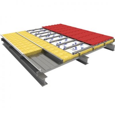 Кровельные конструкции: варианты с использованием кровельных сэндвич панелей